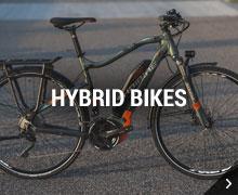 Haibike hybrid bikes