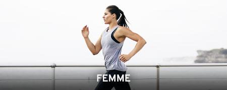 Textile Running Femme