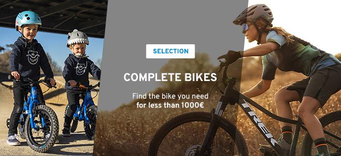 Sélection Vélos - 1000€