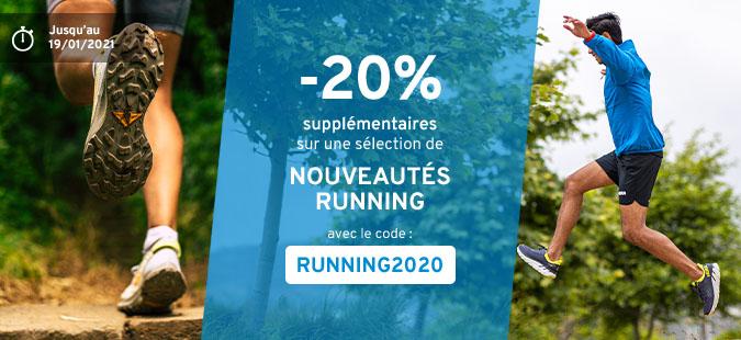 -20% Nouveautés Running