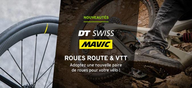 Roues Mavic & DT Swiss