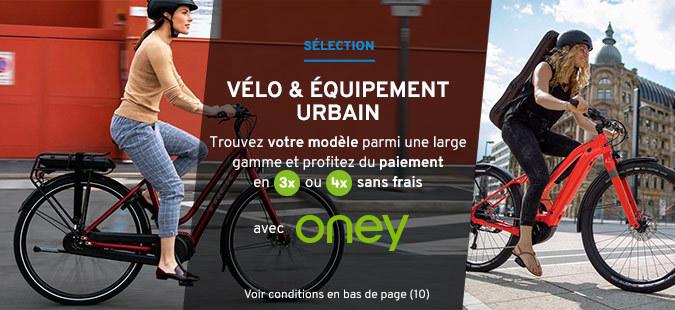 Vélos urbains x Oney