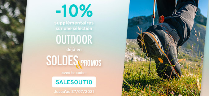 Soldes Outdoor -10%