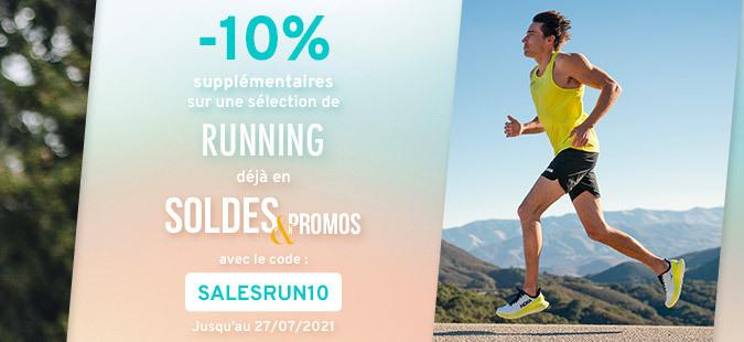 Soldes Running -10%