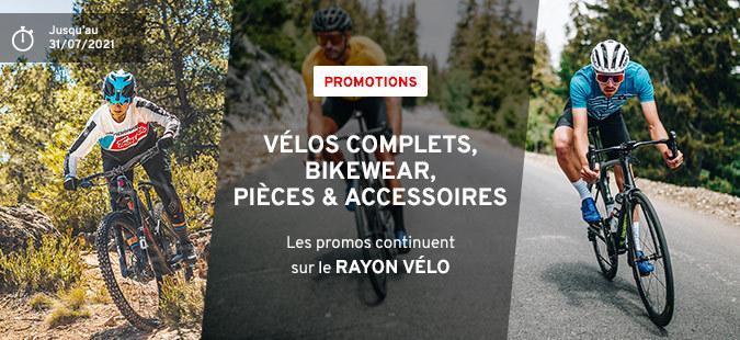 Promos Rayons Vélo