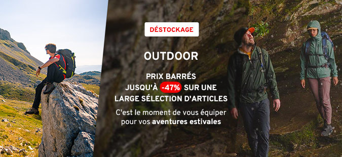 Déstockage Outdoor
