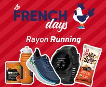 French Days Equipement Running