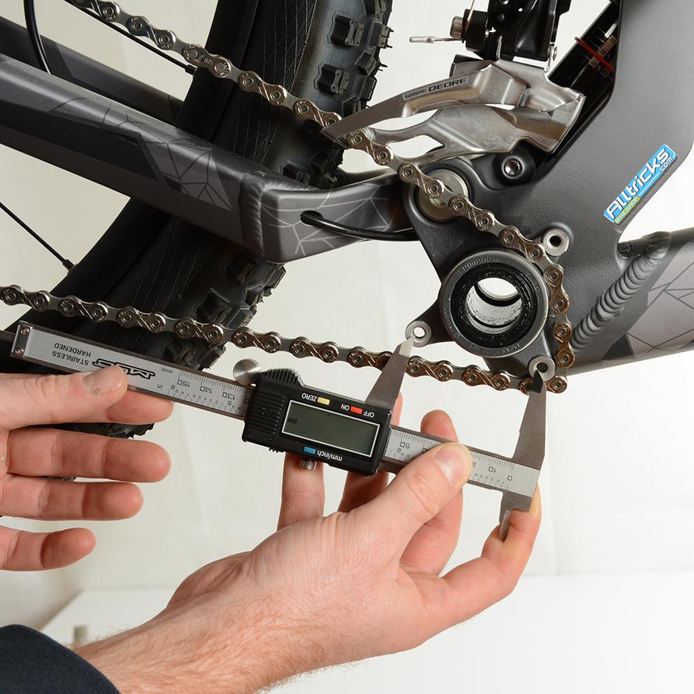 mesurer l'entraxe des pattes ISCG