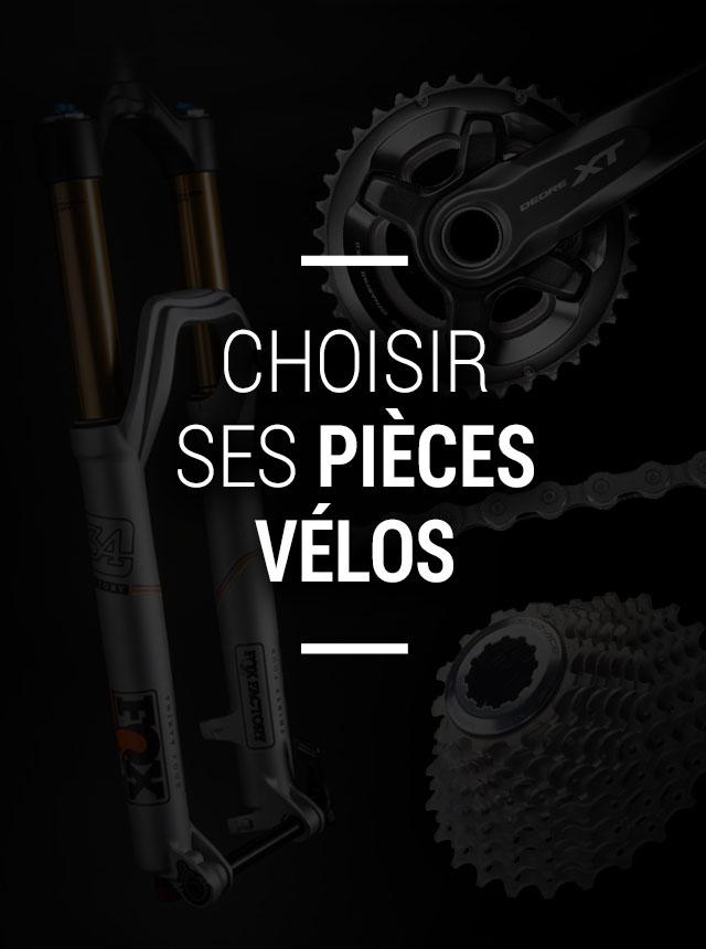 Choisir ses pièces de vélo
